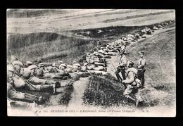 CPA Guerre 1914/18. Infanterie Russe En Prusse Orientale - Guerra 1914-18
