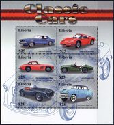 LIBERIA 2001 - Voitures Classiques - BF 6 Val Neuf // Mnh - Liberia