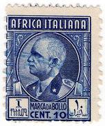 (I.B) Italy (African Colonies) Revenue : Marca Da Bollo 10c (perf 11 X 13.5) - Zonder Classificatie