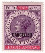 (I.B-CK) India Revenue : Share Transfer 4a - India (...-1947)