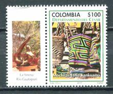 Colombia 2017 / Textile Handicraft Folk MNH Folklore Artesanía Textil / Cu5324  40-9 - Textiles