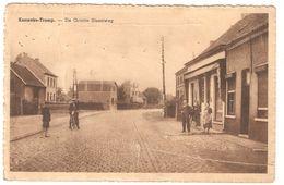 Kemzeke / Kemseke-Tromp - De Groote Steenweg - Uitgave Em. Beernaert, Lokeren - Geanimeerd - Beschadigd - Stekene