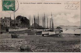 Environs De Paimpol  Loguivy L Entrée Du Port Et Le Chateau - Autres Communes