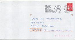 "Flamme Temporaire--2000--MONTAIGU--85--football-""Pâques-Tournoi International..  ""--type Marianne Luquet......à Saisir - Postmark Collection (Covers)"