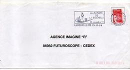 """Flamme Temporaire-1999--""""MARATHON De La ROCHELLE-17  """"type Marianne Luquet......à Saisir - Postmark Collection (Covers)"""