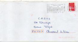 """Flamme -2000--AVAILLES-LIMOUZINE--86 """" Vallée De La Vienne (pont) """" Type Marianne Luquet......à Saisir - Postmark Collection (Covers)"""