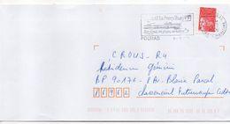 """Flamme -2000--FOURAS La Presqu'ile"""" Climat,plages,huitres """" Type Marianne Luquet......à Saisir - Postmark Collection (Covers)"""