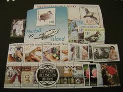 Norfolk Island 1999 Commemorative Issues - Used - Norfolk Island