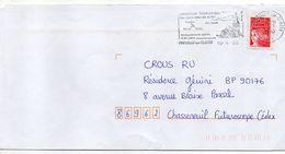 """Flamme -2000 --PREUILLY SUR CLAISE -37-""""église Abbatiale,équipements Sportifs...."""" Type Marianne Luquet......à Saisir - Marcophilie (Lettres)"""