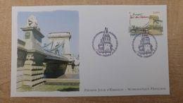 FDC - N°4539 -Capitales Européennes - Budapest Pont Des Chaines - 2010-....