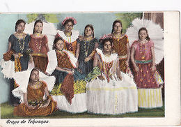 K 685 -Mexico, Grupo De Tehuanas, Ungelaufen - Postcards