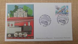FDC - N°4564 -Centenaire Des Chemins De Fer De Provence Train Des Pignes - 2010-....