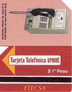 TARJETA TELEFONICA DE CUBA (URMET) (TEST CARD) (281) - Cuba