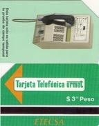TARJETA TELEFONICA DE CUBA (URMET) (TEST CARD) (282) - Cuba
