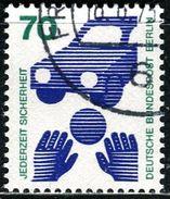 Berlin - Michel 453 - OO Gestempelt (B) - 70Pf  Unfallverhütung II - [5] Berlijn