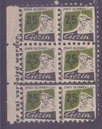 BELGIUM: Block Of 6 Spaarzegels – With Glue: §@§ BOND Van GROTE En JONGE GEZINNEN Vzw §@§:  MOTHER & CHILD - Cachets Généralité