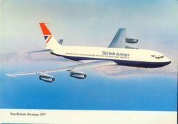 The British Airways 707. - 1946-....: Moderne