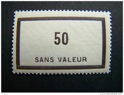 FICTIFS NEUF ** N°F 90 SANS CHARNIERE (FICTIF F90) - Finti