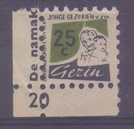 BELGIUM: Spaarzegel – With Glue: §@§ BOND Van GROTE En JONGE GEZINNEN Vzw §@§:  MOTHER & CHILD, - Seals Of Generality