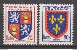 FRANCE 1953 - SERIE  Y.T. N° 958 ET 959 - 2 TP NEUFS** - Unused Stamps