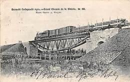 Russia Siberia, Grand Chemin De La Siberie No. 40, Train 1906 - Russland