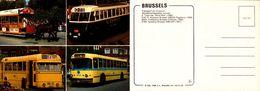 Bruxelles - Transport En Commun -  Tram, Autobus Et Trrolleybus Brossel Edit THILL 100/357 - NELS - Transport Urbain En Surface