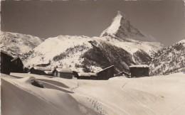 Switzerland Winkelmatten Bei Zermatt Matterhorn 1957 Photo - VS Valais
