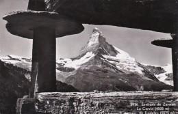 Switzerland Environs De Zermatt Le Cervin Vu De Findelen Photo - VS Valais