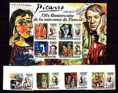 Burundi 2011 Art Picasso MNH Imperf. -(V-38) - Arts