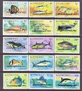 ST. VINCENT  572-86    **     OCEAN  FISHES - St.Vincent (...-1979)