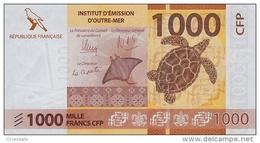 FRENCH PACIFIC TERRITORIES P. 6 1000 F 2014 UNC - Territoires Français Du Pacifique (1992-...)