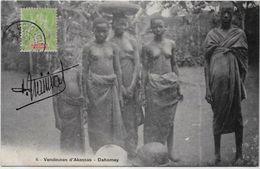 CPA Dahomey Circulé Métier Femme Nue Nu Féminin - Dahomey