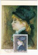 France 1968 Auguste Renoir, Paris - Maximumkarten