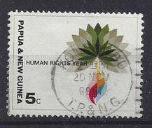 Papau New Guinea 1968  Human Rights Year (o) - Papua New Guinea