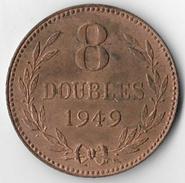 Guernsey 1949 8 Doubles (1) [C641/2D] - Guernsey