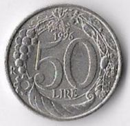 Italy 1996 50 Lire [C648/2D] - 1946-… : Republic