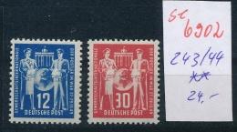 DDR   Nr. 243-44 ** ...  (se6902   ) Siehe Scan ! - DDR