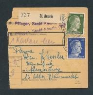 Heimat Beleg -Paketkarte Aus Dem Elsass........ ( T8564  ) Siehe Scan ! - Deutschland
