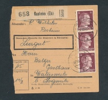 Heimat Beleg -Paketkarte Aus Dem Elsass........ ( T8654  ) Siehe Scan ! - Storia Postale