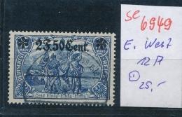 D.-Post In Belgien Nr. 12 A   O   (se6949    ) Siehe Scan ! - Occupation 1914-18