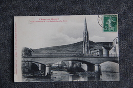 SAINT AFFRIQUE - La Cathédrale Et Les Ponts - Saint Affrique