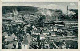 AK Sulzbach-Rosenberg, Sulzbach Hütte, Teilansicht, O 1955 (24740) - Sulzbach-Rosenberg