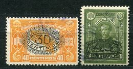 Costa Rica Nr.132/3          O  Used          (153) - Costa Rica