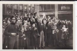MINI PHOTO--67--STRASBOURG The People Ebeer The Libérators-libération Alsace Et La Lorraine Libérées--voir 2 Scans - Photographie