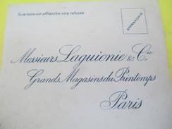 Enveloppe Commerciale/La Guionie & Cie/Grands Magasins Du Printemps/Paris /Vers 1910-1920   CAC73 - Droguerie & Parfumerie