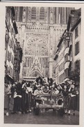 MINI PHOTO--67--STRASBOURG Hearty Welcome  The Cathédral--libération Alsace Et La Lorraine Libérées--voir 2 Scans - Photographie