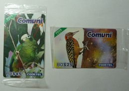 DOMINICANA - Remote Memory - Comuni - La Cotorra & El Carpintero - Mint Blister - Dominicana