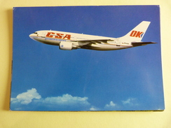 AIBUS A 310 300  AIRLINES ISSUE    CSA /  OK JET        OK WAA - 1946-....: Moderne