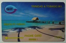 TRINIDAD & TOBAGO - GPT - 2CTTB - $30 - T&T-2B - Used - Trinidad & Tobago