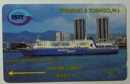 TRINIDAD & TOBAGO - GPT - Port Of Spain Harbour - 2CTTA - T&T-2AA - Used - Trinidad & Tobago